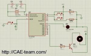 صورة مشروع خط انتاج باستخدام المايكروكنترولير