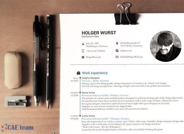 صورة اهم 10 مواقع لعمل سيرة ذاتية مميزة Smart CV