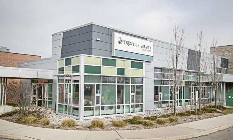 منح البكالوريوس بجامعة ترينت Trent في كندا 2022م